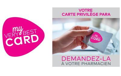 Votre carte privilège para - My very Best Card
