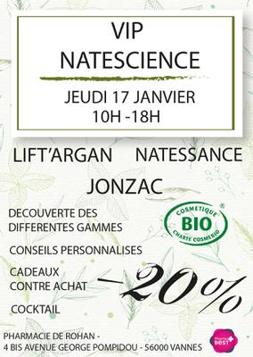 VIP NATESCIENCE - JONZAC - LIFT ARGAN - NATESSANCE 17 JANVIER 2019