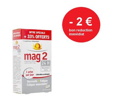 MAG 2 24H CPR BT45 + 33% offert