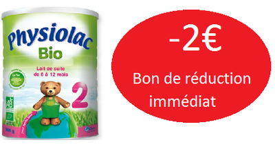 PHYSIOLAC LAIT BIO2 900G