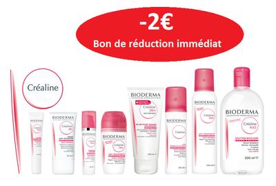 Bioderma gamme CREALINE -2€