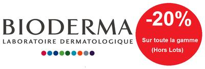 Bioderma gamme -20% (hormis lot)