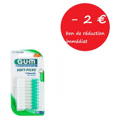 GUM SOFT-PICKS 632M BATON/INT 80