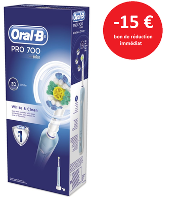 pharmacie de rohan vannes bden oral b pro 700 white clean. Black Bedroom Furniture Sets. Home Design Ideas