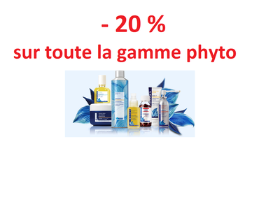 Gamme PHYTO -20 %