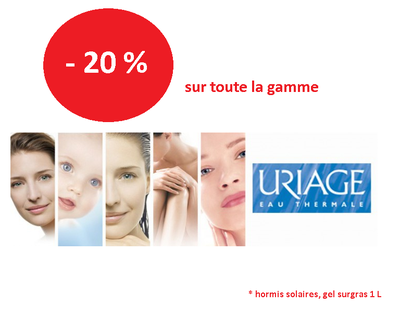 Gamme Uriage Offre - 20 %
