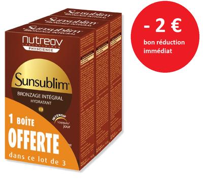 SUNSUBLIM BRONZ INTEGRAL 30 X3