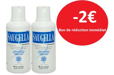 SAUGELLA DERMOLIQUIDE 2X500ML