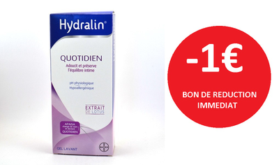 HYDRALIN GEL 400 ML -1€