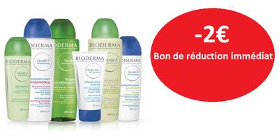 BIODERMA GAMME NODE -2€