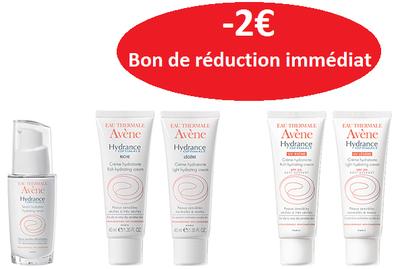 AVENE HYDRANCE -2€