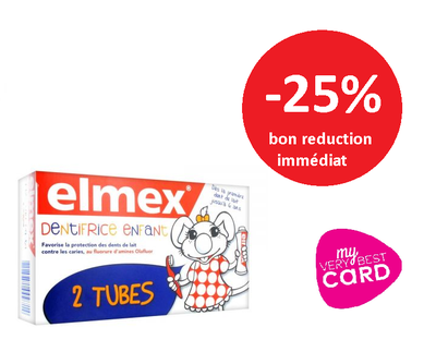 ELMEX DENT ENFANT lot 2*50ML