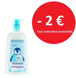 Bioderma ABC DERM cold cream - crème lavante 1l
