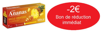 MILICAL BRULE GRAISSE EXTRA ANANAS 7 JOURS