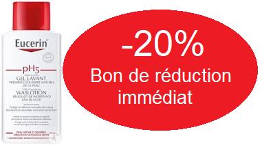 EUCERIN GEL LAVANT 1L -20%