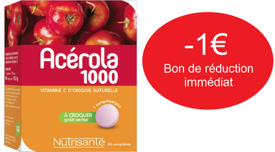 NUTRI SANTE ACEROLA 1000 BOITE DE 24