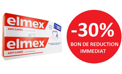 ELMEX ANTI-CARIES 2X125 ML -30%