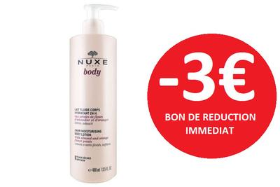 NUXE LAIT FLUIDE 400 ML -3€