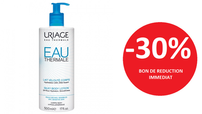 URIAGE LAIT VELOUTE CORPS 500 ML -30%