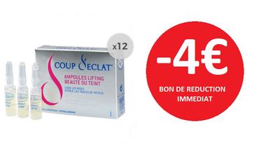 COUP D'ECLAT 12 AMPOULES -4€