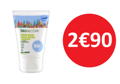 BIO SECURE CREME MAINS 50 ML  2€90
