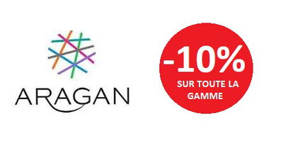 ARAGAN TOUTE LA GAMME -10%