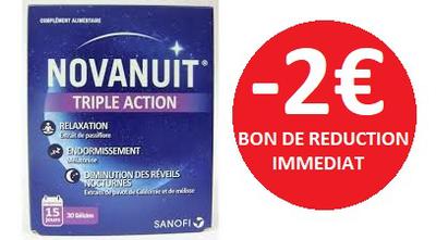 NOVANUIT 30 GELULES -2€