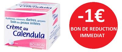 BOIRON CREME CALENDULA 20G -1€