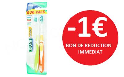 GUM BROSSE A DENTS ACTIVITAL -1€