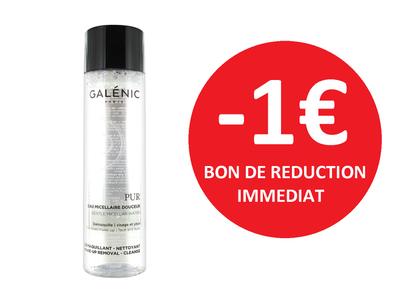 GALENIC EAU MICELLAIRE 400 ML -1€