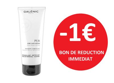 GALENIC LAIT 2EN 1 200ML -1€