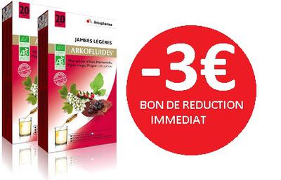 ARKOFLUIDE LOT DE 2 2X20AMPOULES -3€