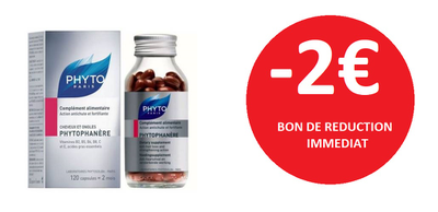 PHYTOPHANERE 120 CAPSULES -2€