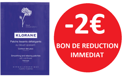 KLORANE PATCH LISSANT APAISANT YEUX -2€