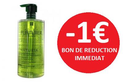 FURTERER SHAMPOOING NATURIA 500ML -1€
