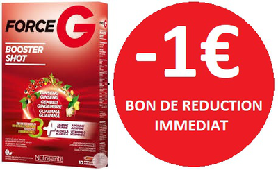 FORCE G BOOSTER SHOOT 10 AMPOULES -1€