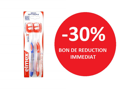 ELMEX BROSSE A DENT DUO PACK SOUPLE -30%