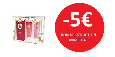 ROGER GALLET COFFRET -5€
