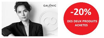 GALENIC -20% DES DEUX PRODUITS ACHETES