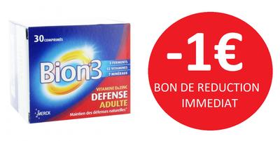 BION 3 ADULATE 30 COMPRIMES -1€