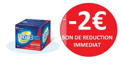 BION 3 JUNIOR 60 COMPRIMES -2€