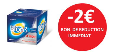 BION 3 SENIOR 60 COMPRIMES -2€