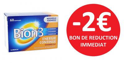 BION 3 ENERGIE CONTINUE 60 COMPRIMES -2€