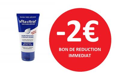 ASEPTA VITACITRAL BAUME HYDRATANT MAINS  - 2€