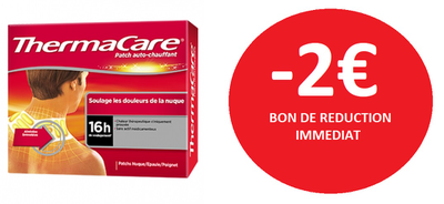 THERMACARE PATCH DOS X4 ET PATCHS NUQUE X6 -2€