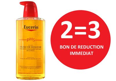 EUCERIN HUILE DE DOUCHE 400 ML 2=3