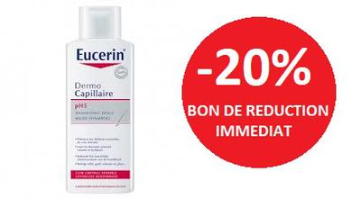 EUCERIN SHAMPOOING DOUX 250 ML  -20%