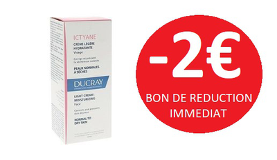 DUCRAY ICTYANE GAMME VISAGE -2€