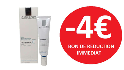 ROCHE POSAY GAMME REDERMIC -4€
