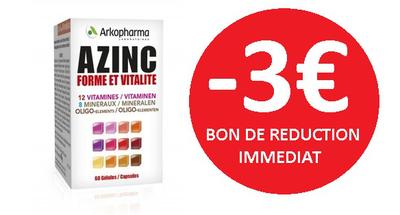 AZINC ARKOPHARMA 120 GELULES -3€